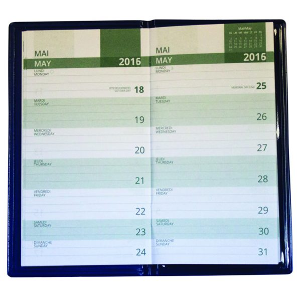 Weekly planner refill