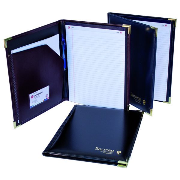 Superior quality desk folder in synthetic leather