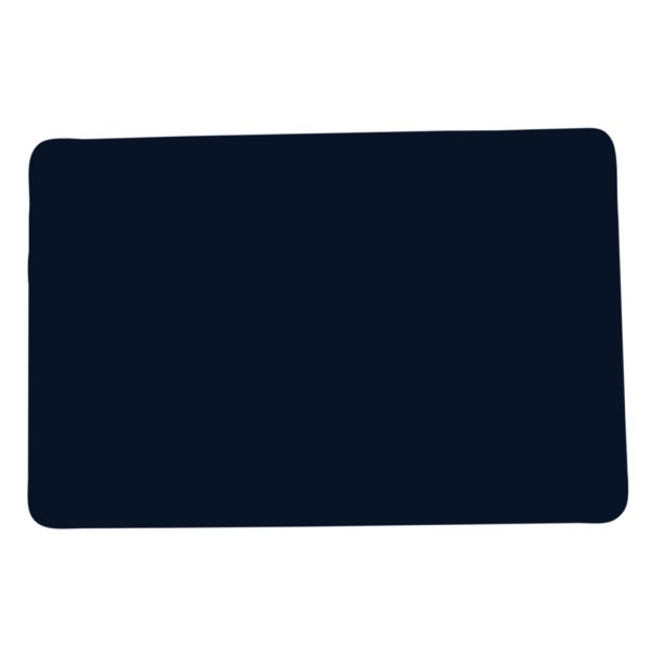 rectangular placemat in leatherette (round corners)