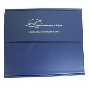 Funeral document holder