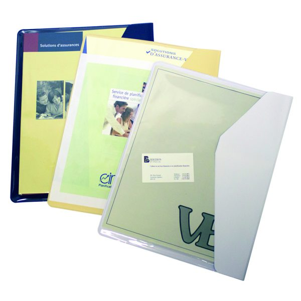 Document holder letter size opened on long side