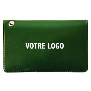 ID card holder with velcro fastener
