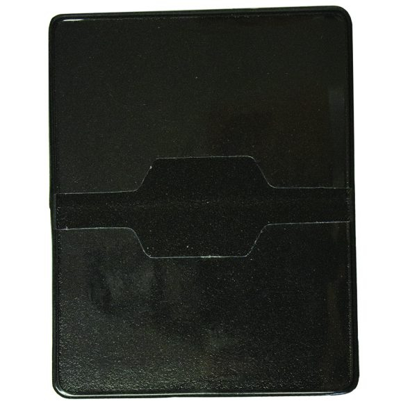 deluxe licence holder in leatherette