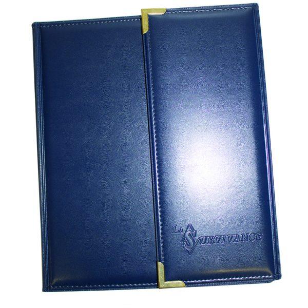 Tri-fold policy holder